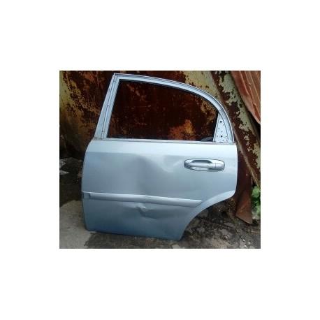 Дверь Шевроле Лачетти (Chevrolet Lacetti) задняя левая хечбек