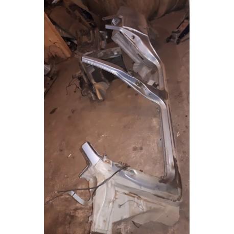 Порог ДЭУ Нексия (Daewoo Nexia) левый с крылом