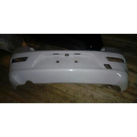 Бампер задний Шевроле Круз (Chevrolet Cruze I) хетчбек белый