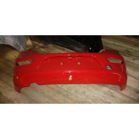 Бампер задний Шевроле Круз (Chevrolet Cruze I) хетчбек красный