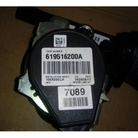 Ремень безопасности Шевроле Орландо (Chevrolet Orlando I) 619516200 левый